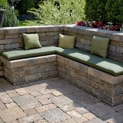 Attractive Stonehenge With Brussels Dimensional Seat Wall