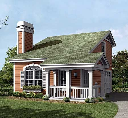 Perfect For A Cottage Retreat - 57159HA | 2nd Floor Master Suite, Cottage, Narrow Lot, PDF | Architectural Designs
