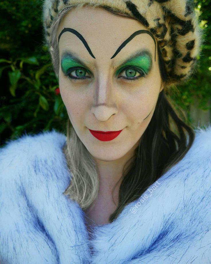 -Oh yes! I love the smell of near extinction!- Cruella De Vil  (@rosie_bart) on Instagram #cruella #101dalmatians #disney  #villain #halloween #facepaint #cosplay
