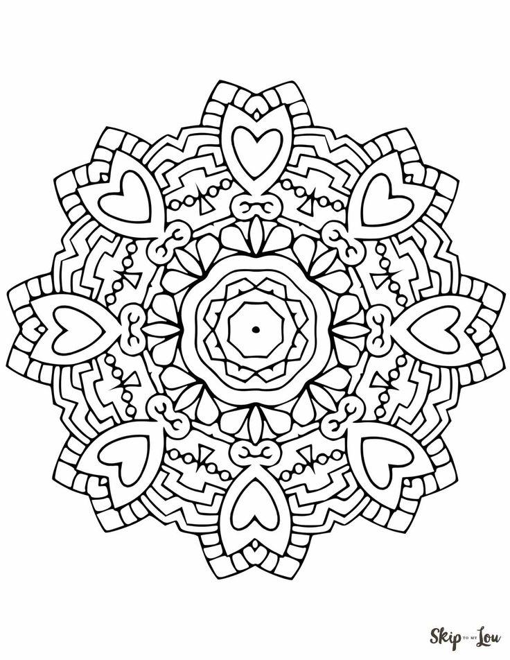 10 besten Kostenlose Malvorlagen Indisches Mandala Bilder