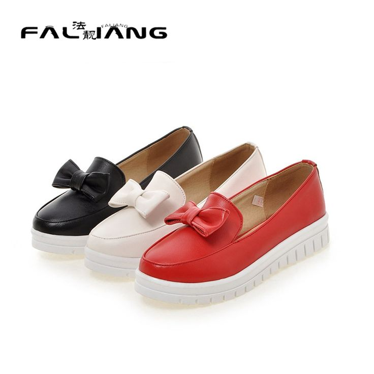 Spring Autumn Casual Soft Flats Shoes Women white Black red Round Toe Ladies Slip On Pregnant Loafers flat platform shoes woman
