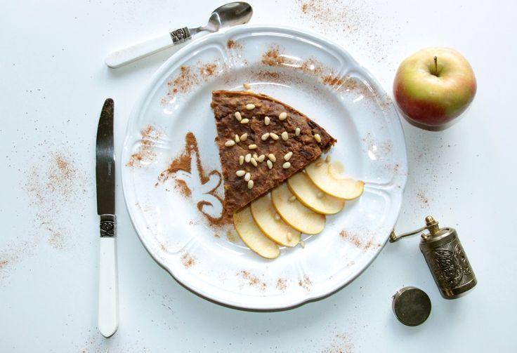 Полезный десерт из яблок и безглютеновой муки #glutenfree #безглютена #яблочный #пирог  #десерт