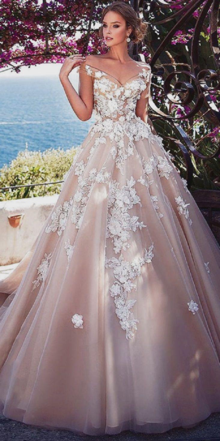 Pinkes Kleid  Kleider hochzeit, Verfüherische brautkleider