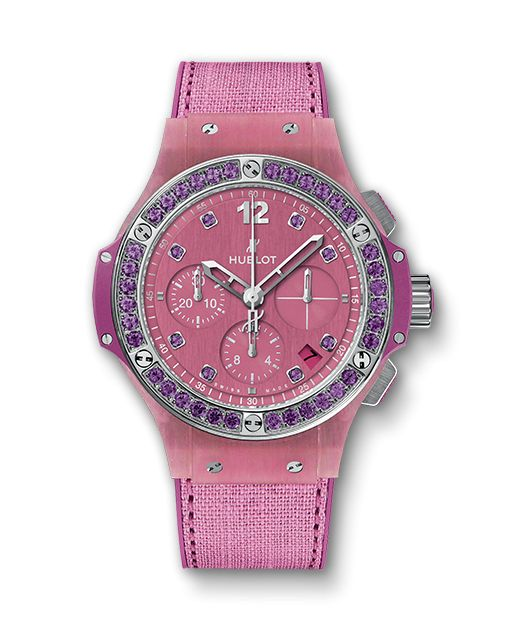Big Bang, Purple Linen Hublot $12k