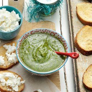 Pesto Recipe from Taste of Home