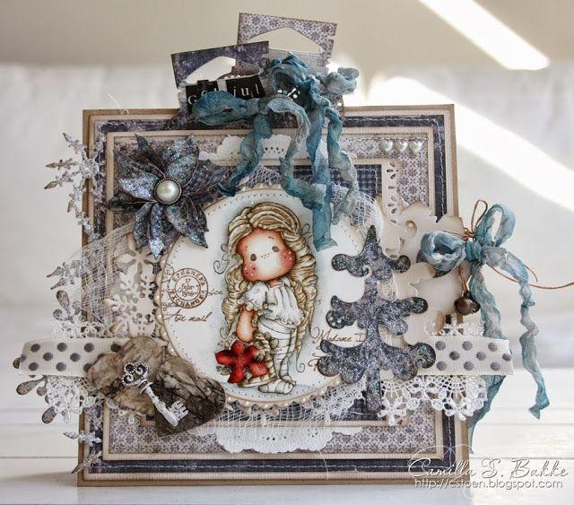 Merry Christmas Tilda ♥ - Magnolia Cards by Camilla