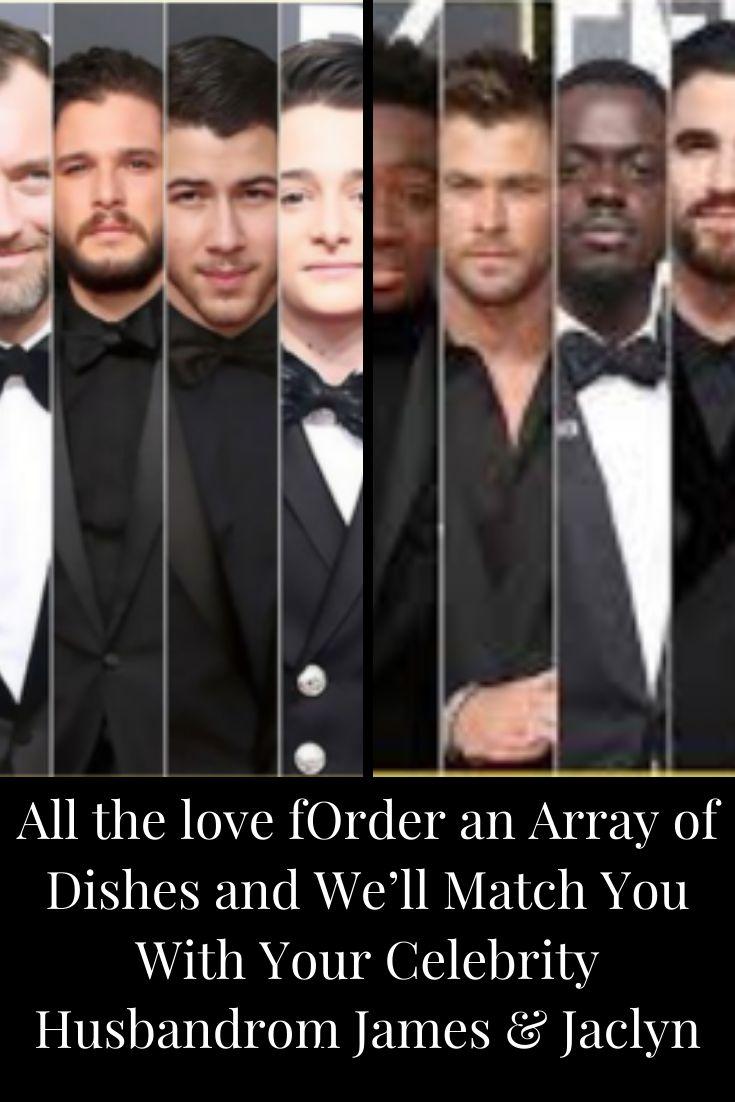Bestellen Sie eine Reihe von Gerichten und wir stimmen Sie mit Ihrem prominenten Ehemann ab