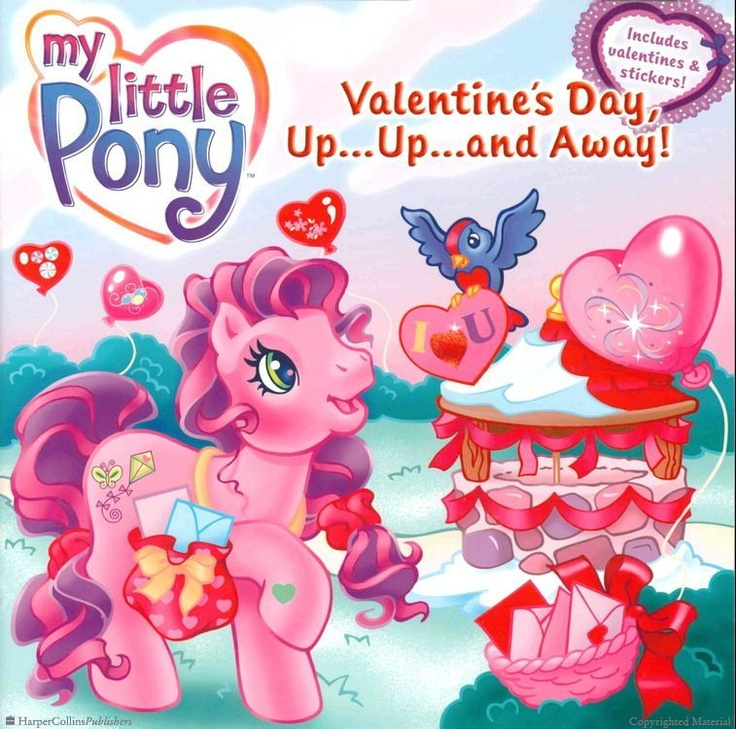 My Little Pony: Valentine's Day, Up...Up...and Away!  by Ann Marie Capalija and illustrated by Lyn Fletcher: Valentine'S Day, Valentines Books, Children Valentines, Mary Capalija, Valentines Day, Nice Valentinesdaysgift, Ponies Harpers, Children Books, Anne Mary