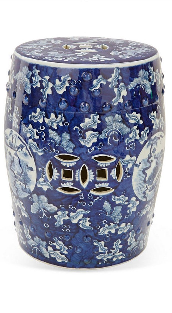 17 Best Ideas About Ceramic Garden Stools On Pinterest Accent And Garden Stools Blue And