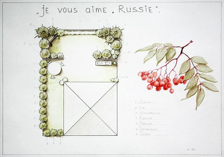 """проект будущего """"русского сада"""" в превосходных рисунках"""