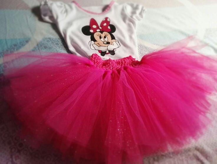 Tutú y blusa de Minnie