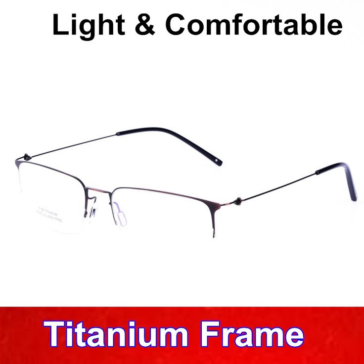 33$  Watch now - New Titanium Myopia Reading eyeglasses Retro Square men glasses frame ultra light unique desigh comfortable Eyewear   #buyininternet