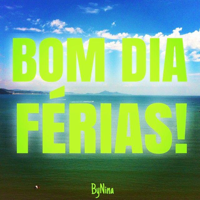 """233 curtidas, 11 comentários - ByNina (Carolina Carvalho) (@instabynina) no Instagram: """"Acordar e ver o mar: felicidade! #beach #praia #férias #obrigadasenhor #instagood #bynina…"""""""