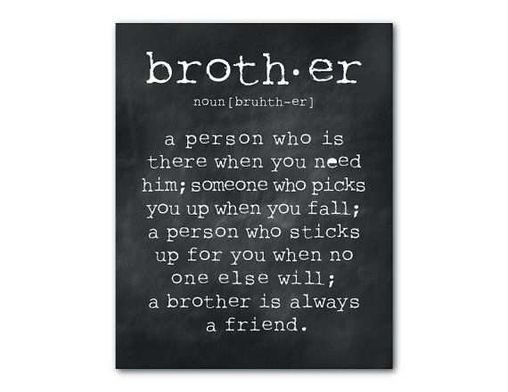 17 Best Ideas About Brother Gifts On Pinterest