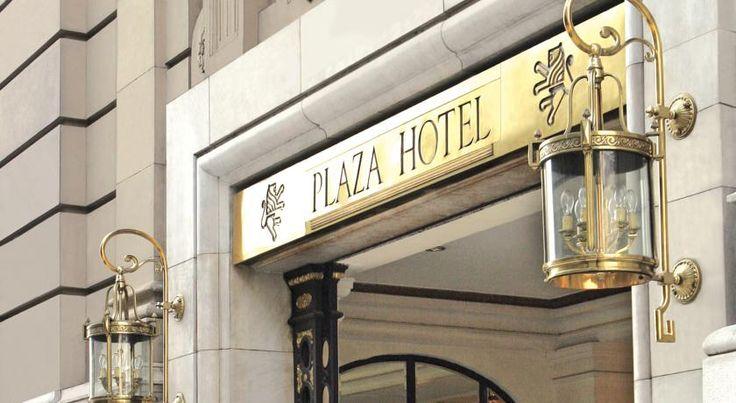 泊ってみたいホテル・HOTEL|アルゼンチン>ブエノスアイレス>フロリダ通りとサンマルティン広場の交差点にある1909年創業のホテル>プラザ ホテル ブエノスアイレス(Plaza Hotel Buenos Aires)