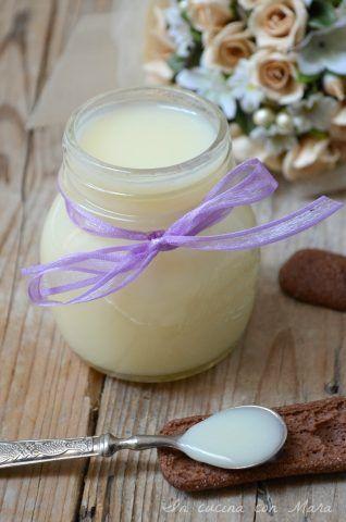 Latte condensato senza burro