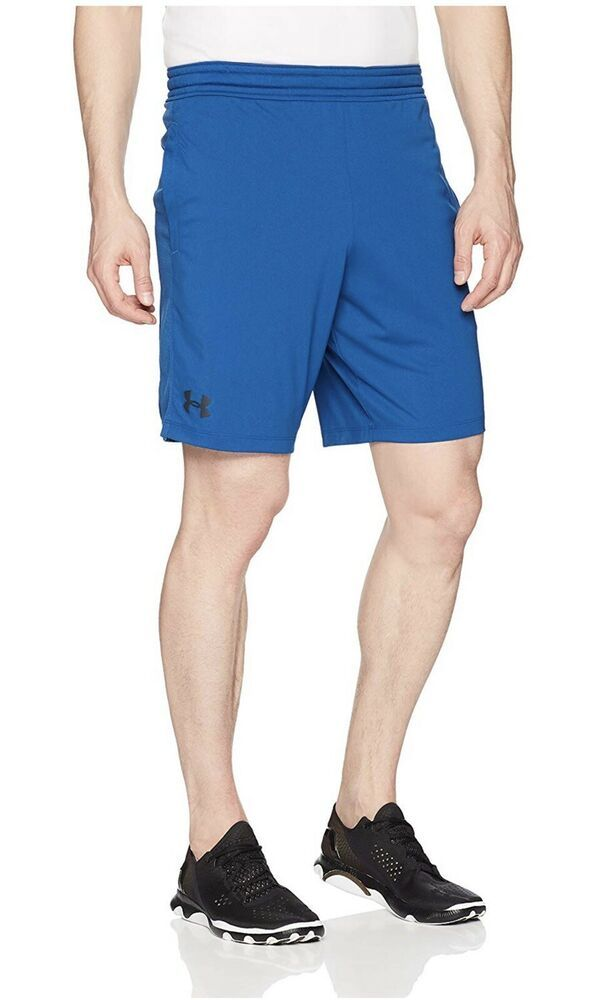 Under Armour Men's MK-1 ShortsMoroccan Blue (487)/Stealth Gray Large