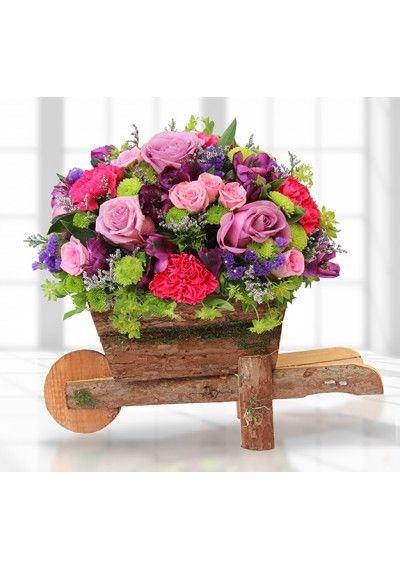Cart of Loving Flowers