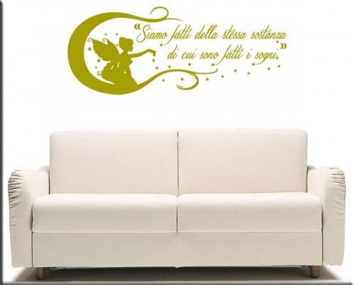 adesivo murale frase William Shakespeare