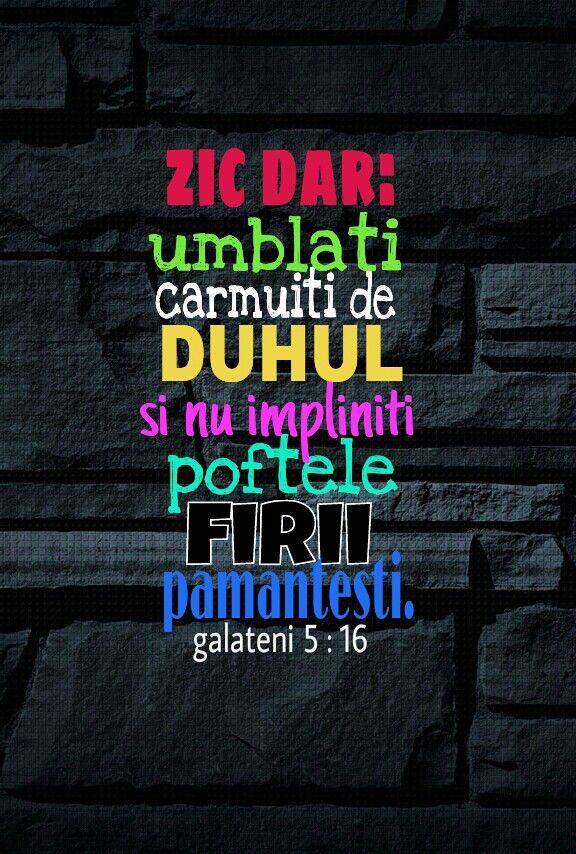 Umblați cu Duhul Sfânt,cu cu prietenii care te trag în groapa cu ei.Duhul Sfânt sa fie Prietenul vostru!