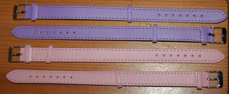 PAIR  LITTLE  PINK  PICNIC  BASKET / CRAFTS / WATCH /  BUCKLE  STRAPS