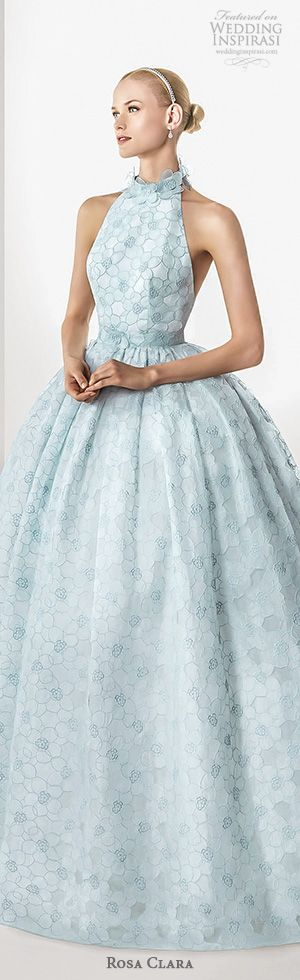 40 best Blue & Light Blue Gowns images on Pinterest | Wedding frocks ...