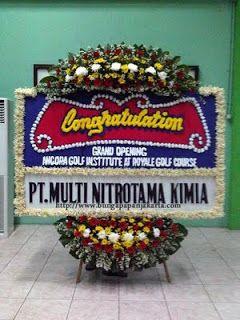 Bunga Papan Acara Pembukaan Workshop   Toko Bunga by Florist Jakarta
