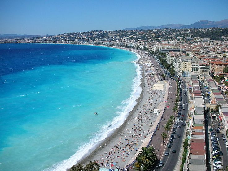 Nice, France- first stop on honeymoon