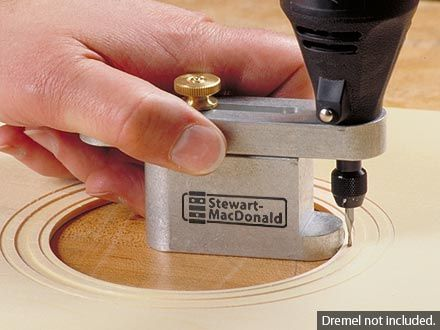 Purfling/Soundhole Router Guide | stewmac.com