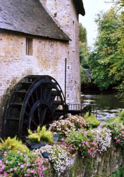 Mühle, Bayeux, Normandie - Foto: S. Hopp