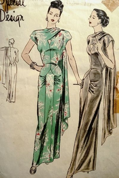 Vogue S-4765 | Fabulous 40s Fashion Patterns Inspiration @ Dazespast