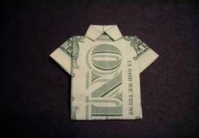 How to fold dollar bills shirts 47+ Ideas
