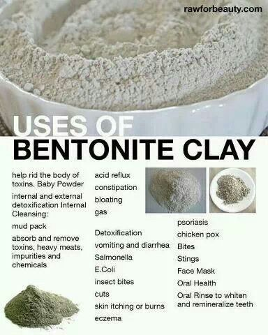 Health Benefits Of Food Grade Calcium Bentonite Clay
