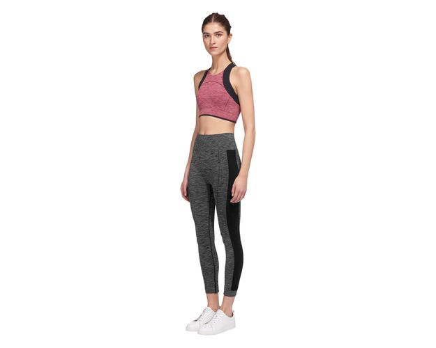 Workout Stretch Legging, in Grey Marl on Whistles