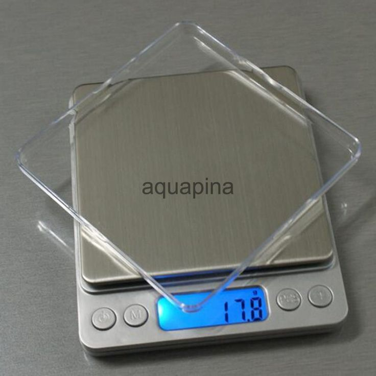 Digital Jewelry Gram Scale Food Weight Balance Pocket Size 5 Sizes Measure