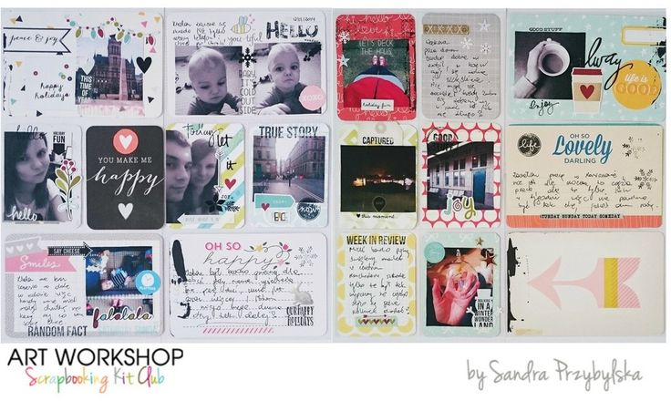 Art Workshop Kit Club: November Project Life with Sandra