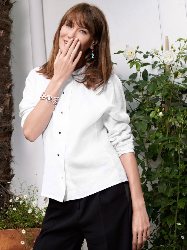 Карла Бруни-Саркози: «Я дружу со всеми мужчинами, которых когда-то любила»