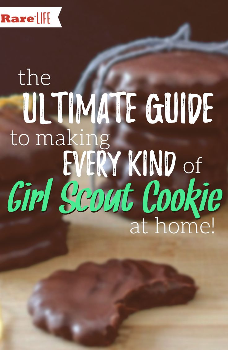 The ultimate guide to making EVERY kind of Girl Scout cookie