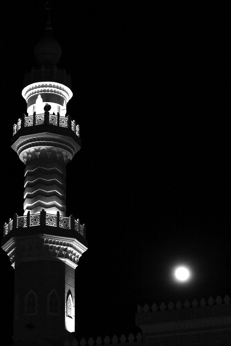 Minaret Moon Mecca Wallpaper Islamic Wallpaper Hd Mosque Art
