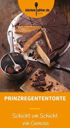 PRINZREGENTENTORTE - Mindestens sechs Böden müssen es sein, damit dieses Prachtstück ihrem Namensgeber - Prinzregent Luitpold von Bayern - gerecht wird. Mit unserem Rezept gelingt das ganz leicht.