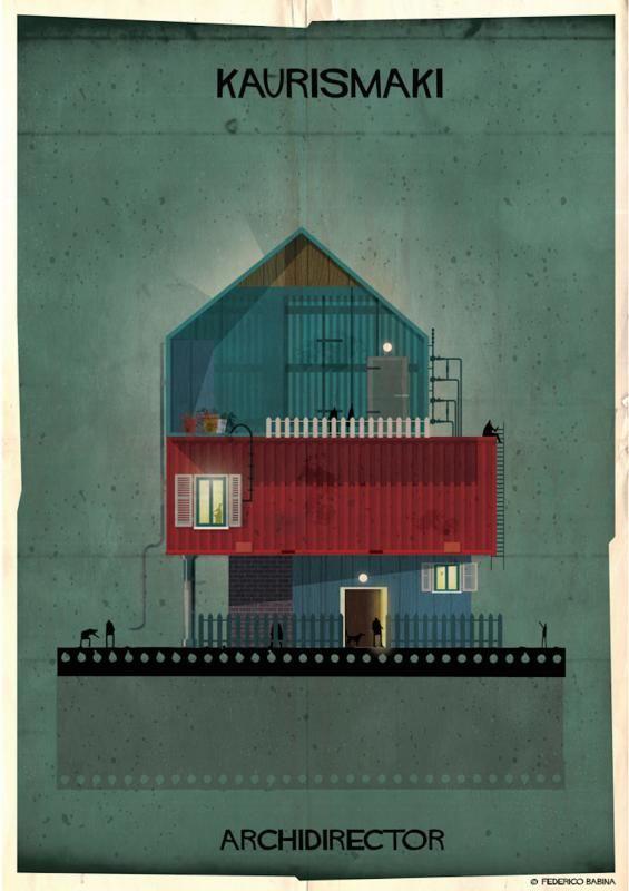 ¿Cómo sería una misma casa según directores de cine distintos?