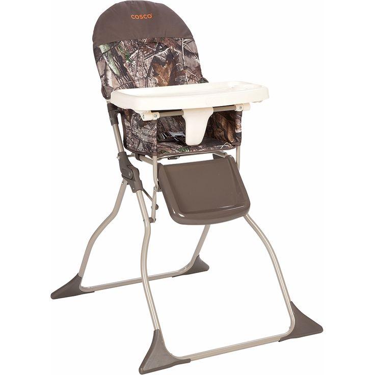 Cosco Simple Fold High Chair, Realtree/Orange