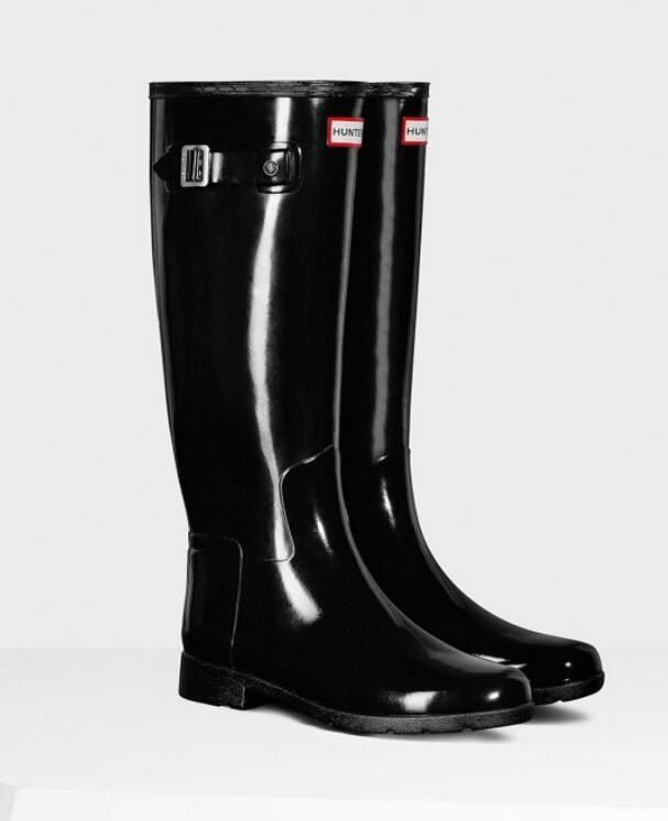 Hunter Boot USA Women's Original Refined Gloss Boots DHL free shipping