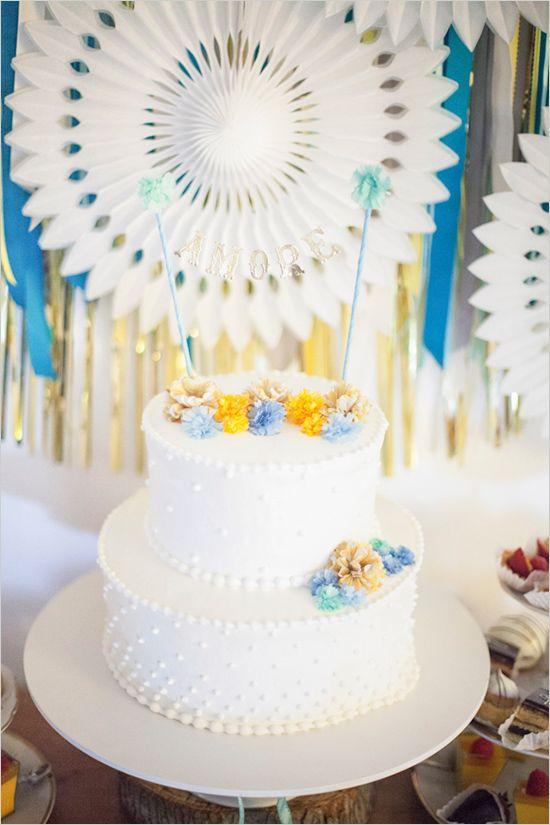 Amore Wedding Cake Topper Cakes & Dessert Tables ...