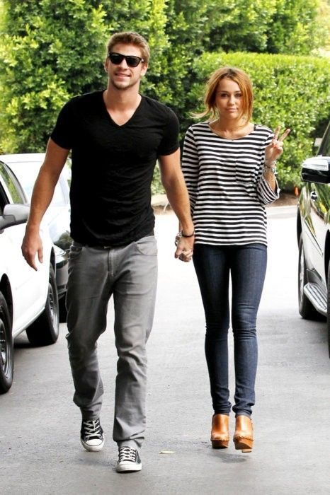 Liam Hemsworth and Miley Cyrus ericahui