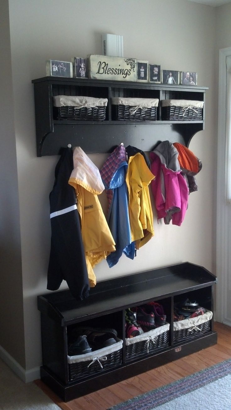 Mudroom Storage Do It Yourself : Hall tree do it yourself home projects from ana white