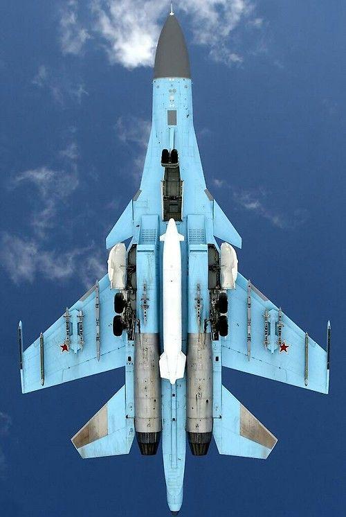Фронтовой истребитель - бомбардировщик Су-34 (Су-27ИБ)