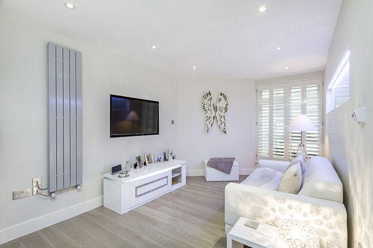 Reception room basement flat London SW1X #cutlerandbond #basementflat #gardenflat          #londonproperty