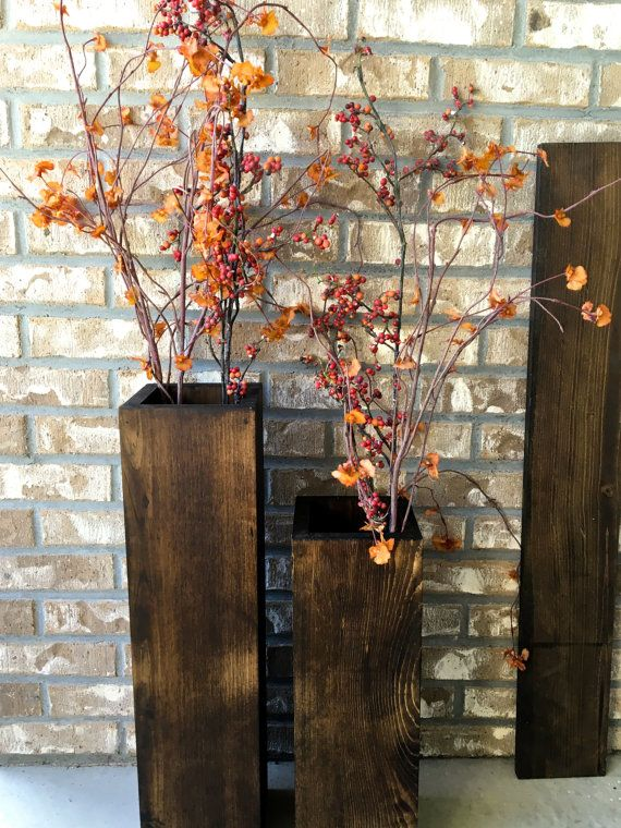 This Set Of 2 Large Floor Vases Will Add A Little Rustic Charm To Your Porch Part 43