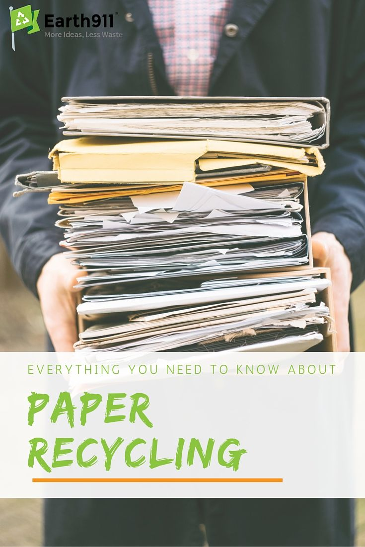 Have you ever wondered how paper gets recycled? Check out this great guide that walks you through each step of the paper recycling process.